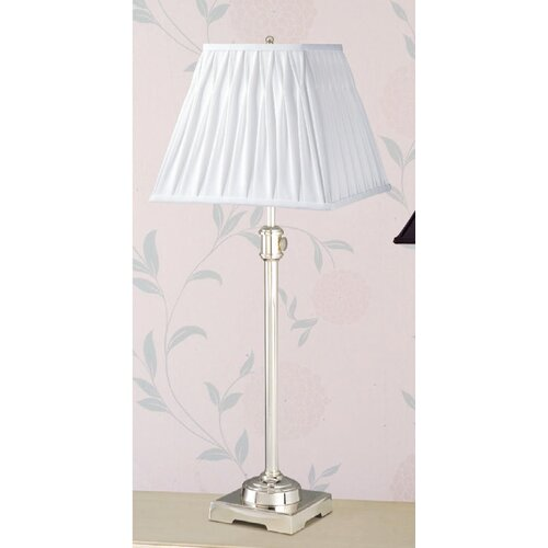 Laura Ashley Home State Street Adjustable Table Lamp with Classic Square Shade