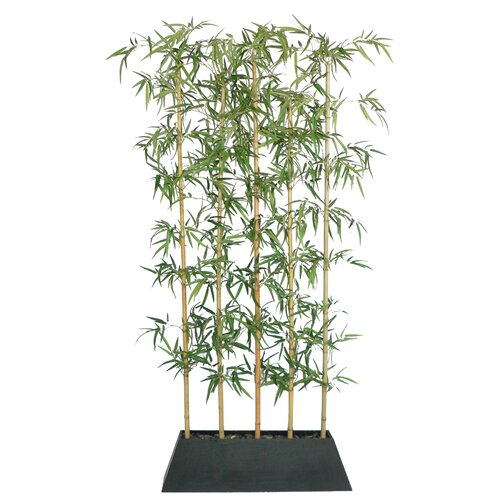 Laura Ashley Home Silk Bamboo Tree in Planter