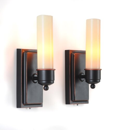 Wall Sconces With Flameless Candles : Lion Sports CandleTEK Wall Sconces Flameless Candles & Reviews Wayfair