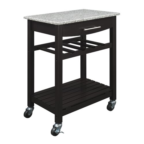 Dorel Living Gibson Kitchen Cart with Granite Top & Reviews