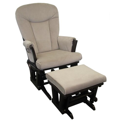 Dorel Rocker Glider and Ottoman