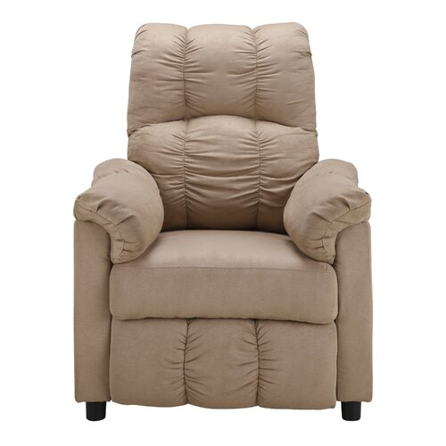 Dorel living slim microfiber recliner reviews wayfair for Addin chaise recliner
