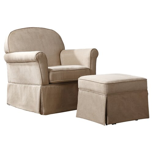 Dorel Asia Swivel Glider and Ottoman