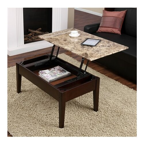 Dorel Home Faux Marble Lift Top Coffee Table: Dorel Living Coffee Table With Lift Top & Reviews