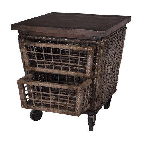 Artifacts Rattan Kitchen Cart