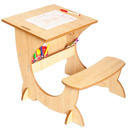 Little Helper Art Station 3-in-1 Desk, Blackboard and Easel Set