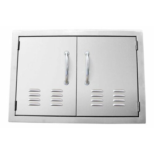Sunstone Grills Double Door Flush Mount with Vents