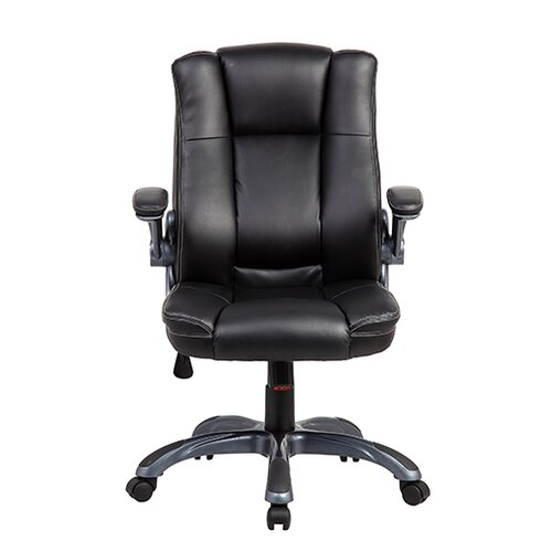Mid-Back Manager Office Chair with Flip-up Arms