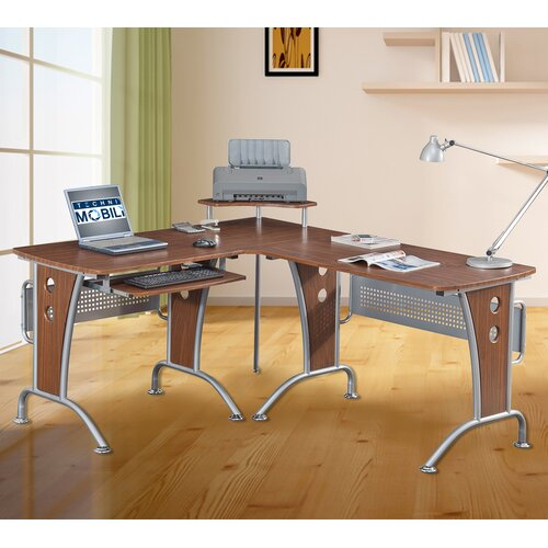 Techni Mobili Space Saver Computer Desk & Reviews  Wayfair Supply