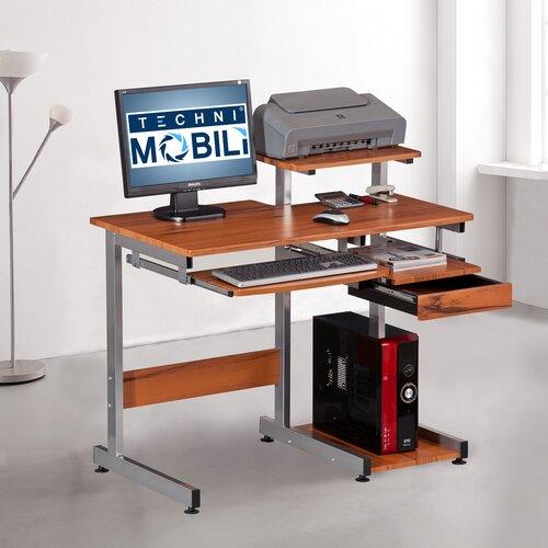 Techni Mobili Streamline Compact Computer Desk
