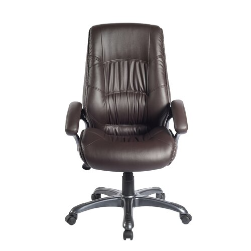 Techni Mobili High Back Synthetic Leather Executive Chair