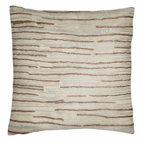 Modern Living Caravan Line Embroidered Cotton Throw Pillow & Reviews Wayfair