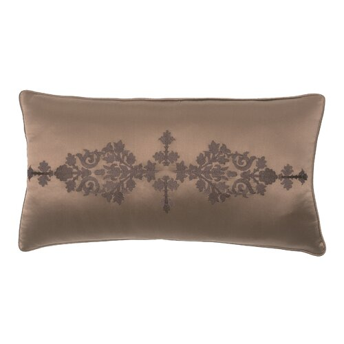 Modern Living Pearse Polyester Embroidered Satin Decorative Pillow