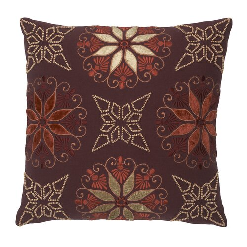 Modern Living Sausalito Cotton Wooden Beaded Pillow