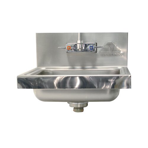 Advance Tabco Mirror Highlight Hand Sink Upgrade