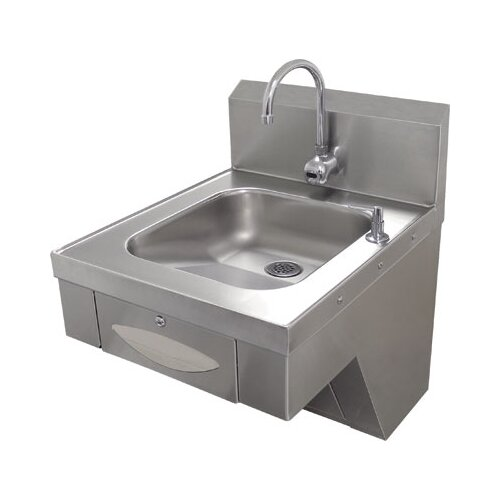 """Advance Tabco Hands Free 20"""" x 24"""" Hand Sink with Faucet"""