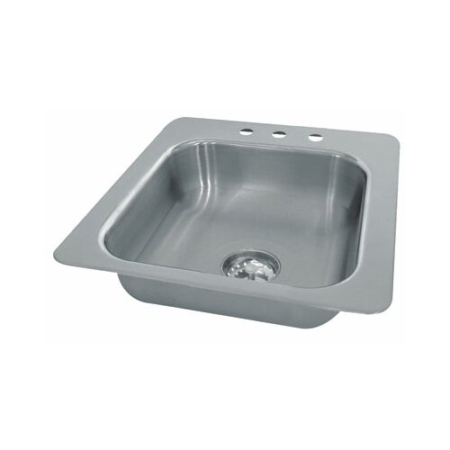 Advance Tabco Seamless Bowl 1 Compartment Drop-in Hand Sink