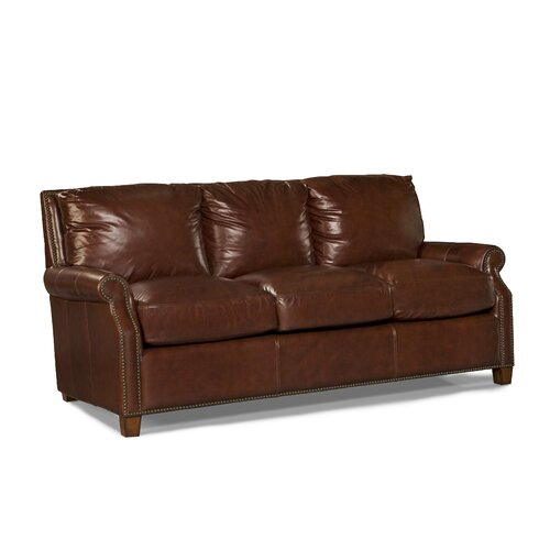 kingston leather sofa wayfair