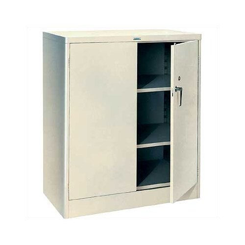 """Lyon Workspace Products 1000 Series 36"""" Wide Counter High Cabinet:  42"""" H x 36"""" W x 21"""" D"""