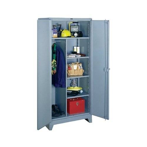 """Lyon Workspace Products All-Welded  Combination Cabinet: 78"""" H x 36"""" W x 24"""" D"""