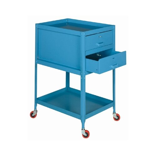 """Lyon Workspace Products Two-Drawer Tool Toter: 34 1/2"""" H x 18"""" W x 24"""" D"""