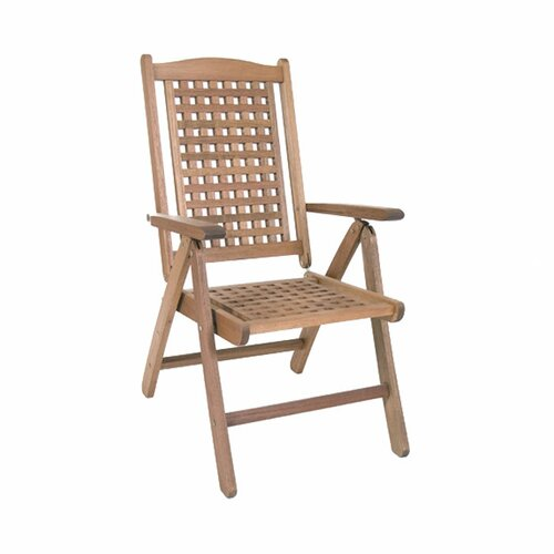 International Home Miami Amazonia Porto Real Folding Dining Arm Chair