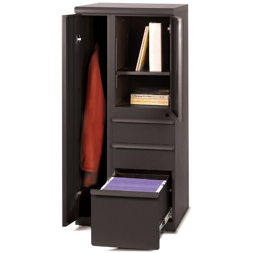 "Marvel Office Furniture Ensemble 24"" Left Personal Storage File Tower"