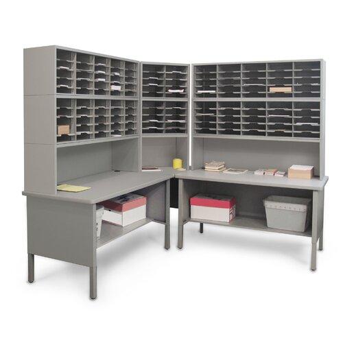 Marvel Office Furniture 120 Adjustable Slot Corner Literature Organizer