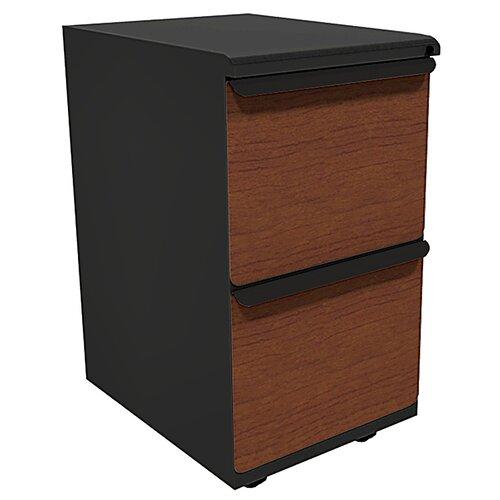 Marvel Office Furniture Zapf 2-Drawer Mobile Pedestals File