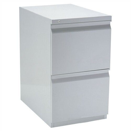 Storlie 2-Drawer Stationary Filing Cabinet