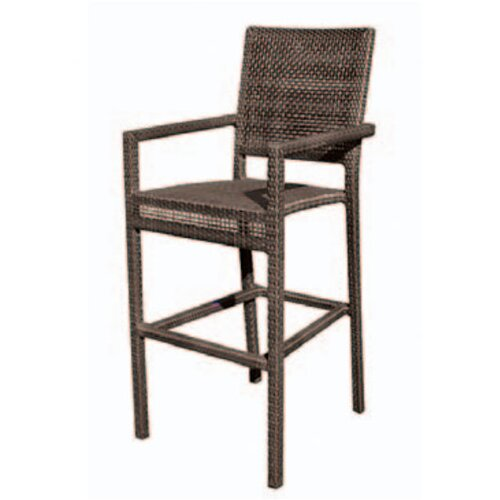 "Whitecraft All-Weather 24"" Miami Bar Stool"