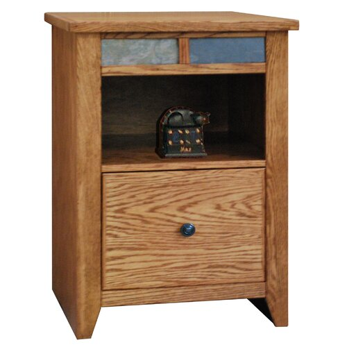 Legends Furniture Oak Creek 1-Drawer File Cabinet