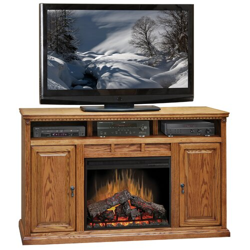"Legends Furniture Scottsdale 62"" TV Stand with Electric Fireplace"