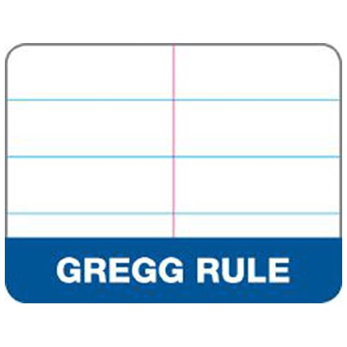 Tops Second Nature Gregg Rule Steno Notebook