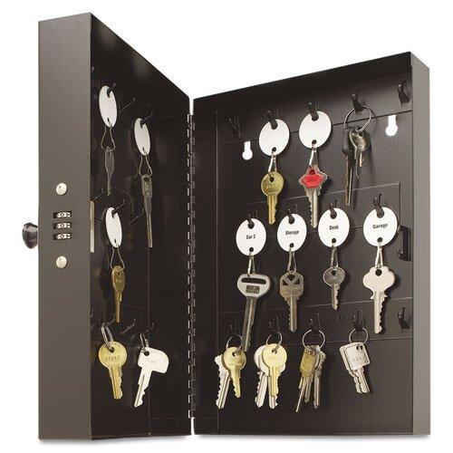 Hook-Style Key Cabinet