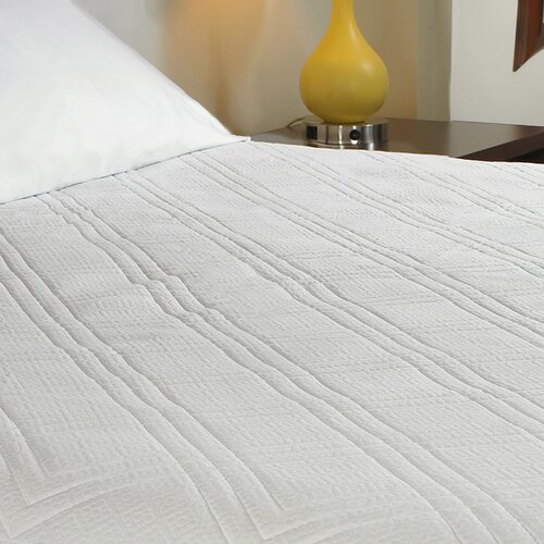 Pure Rest Quilted Memory Foam Mattress Pad