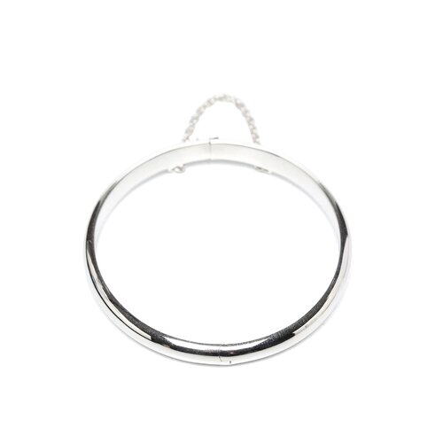 Sterling Silver Polished Baby Bangle Bracelet