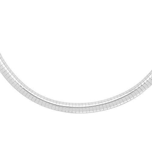Sterling Silver 18 inches Omega Chain