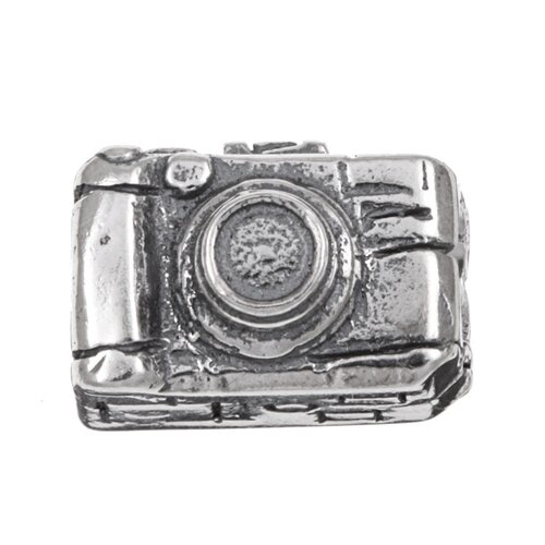 Sterling Essentials Signature Moments Sterling Silver Camera Bead