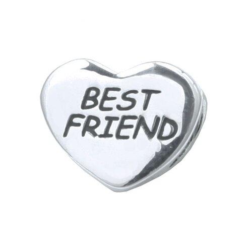 Signature Moments Sterling Silver Best Friend Bead