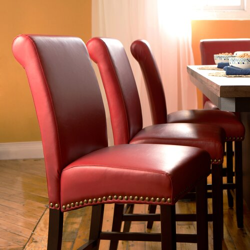 Parsons Counter Stool with Nail Heads (Set of 2)