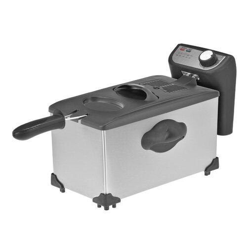 Kalorik 3.8 Liter Stainless Steel Deep Fryer