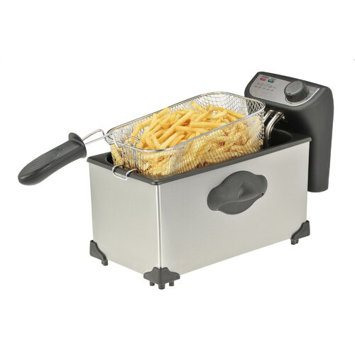 3.8 Liter Stainless Steel Deep Fryer