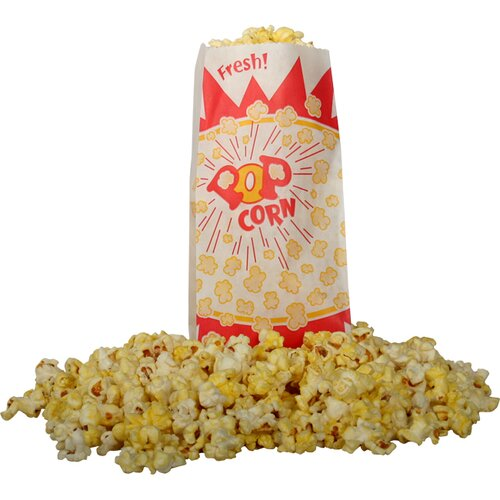 Snappy Popcorn Popcorn Bag Burst Design