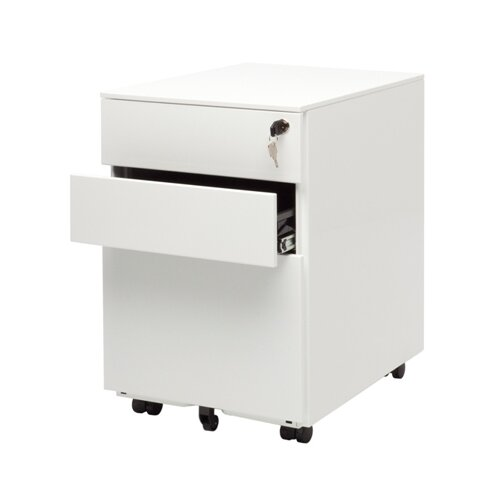 Blu Dot Office 3-Drawer Mobile  File Cabinet