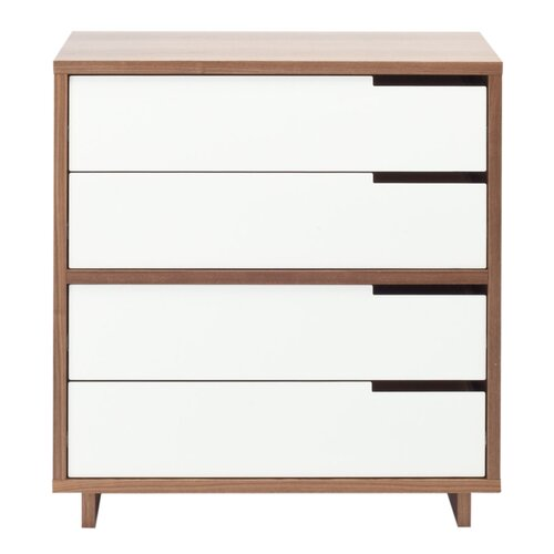 "Blu Dot Modu-licious 31.5""  Four Drawer Storage Cabinet"