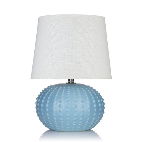 """Krush Cordelia Pearl 20"""" H Table Lamp with Empire Shade"""