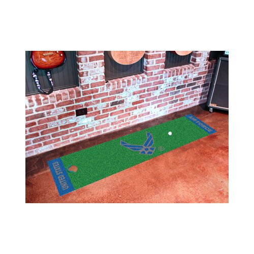 FANMATS US Armed Forces Golf Putting Green Mat