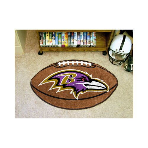 FANMATS NFL Novelty Football Mat