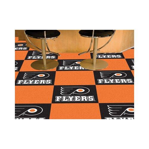 "FANMATS NHL Team 18"" x 18"" Carpet Tile"